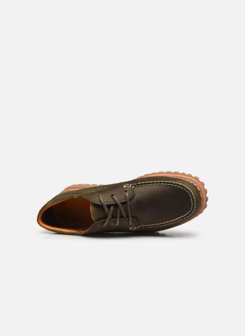 Zapatos con cordones Timberland Jackson's Landing HS Camp Moc Gris vista lateral izquierda
