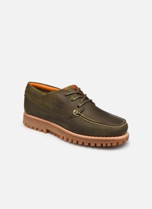 Zapatos con cordones Timberland Jackson's Landing HS Camp Moc Gris vista de detalle / par