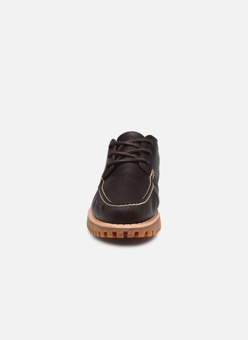 Zapatos con cordones Timberland Jackson's Landing HS Camp Moc Marrón vista del modelo