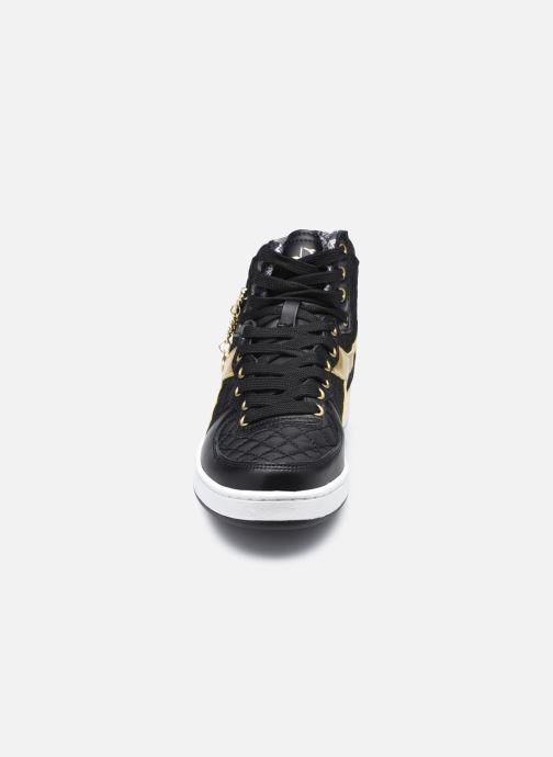 Baskets Diadora Mi Basket Charme Wn Noir vue portées chaussures