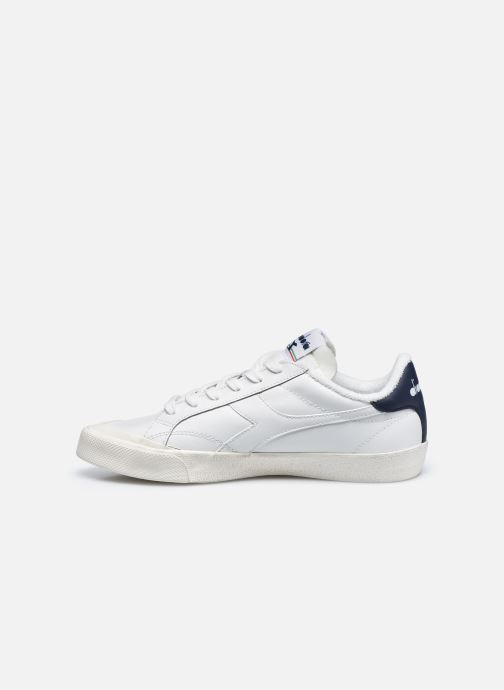 Deportivas Diadora Melody Leather Dirty W Blanco vista de frente