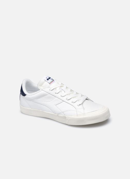 Deportivas Diadora Melody Leather Dirty W Blanco vista de detalle / par
