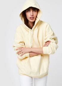 Transparent Yellow Garment Dye Tight Loops