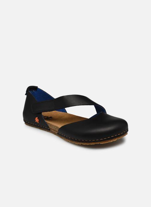 Sandales et nu-pieds Art CRETA 384 Noir vue détail/paire