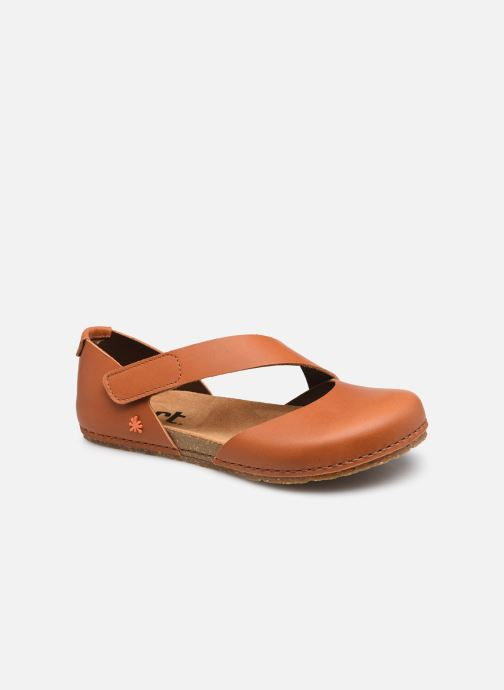 Sandales et nu-pieds Art CRETA 384 Marron vue détail/paire