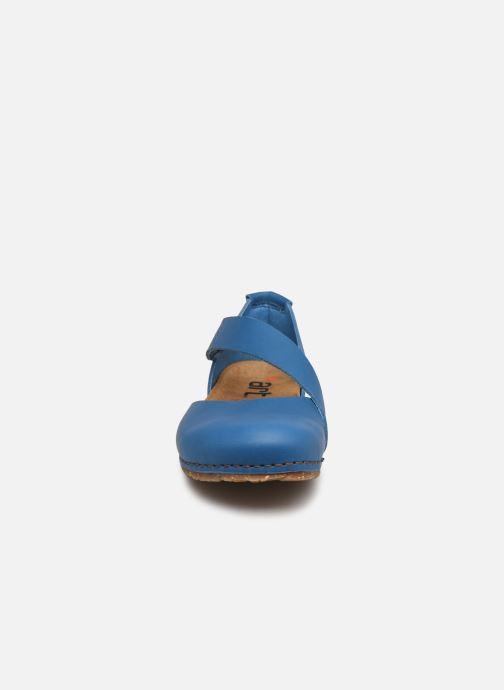 Sandali e scarpe aperte Art CRETA 384 Azzurro modello indossato