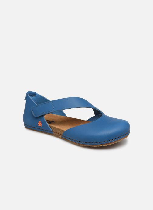 Sandales et nu-pieds Art CRETA 384 Bleu vue détail/paire