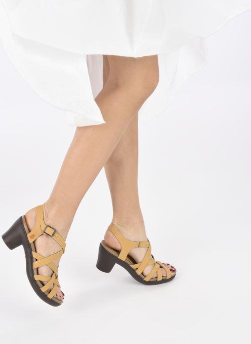 Sandali e scarpe aperte Art ALFAMA 1477 Giallo immagine dal basso