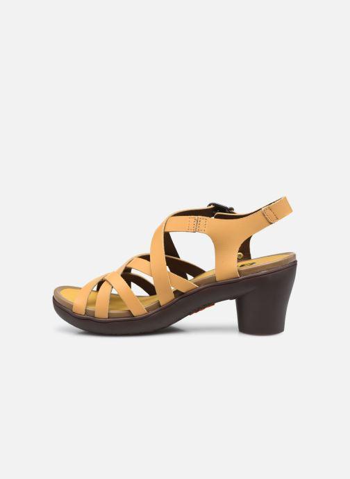 Sandali e scarpe aperte Art ALFAMA 1477 Giallo immagine frontale
