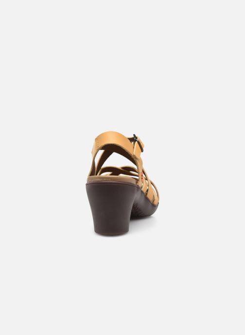 Sandali e scarpe aperte Art ALFAMA 1477 Giallo immagine destra