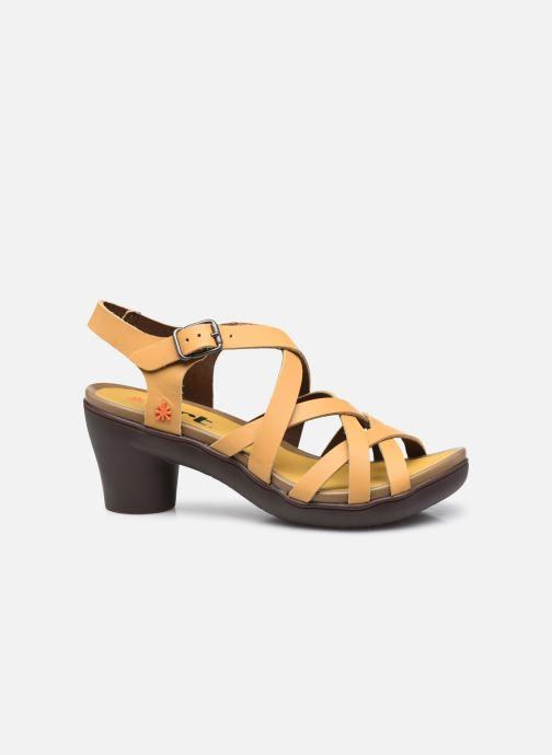 Sandali e scarpe aperte Art ALFAMA 1477 Giallo immagine posteriore