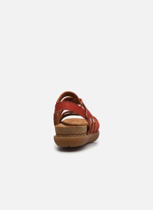 Sandales et nu-pieds Art RHODES 1714 Rouge vue droite