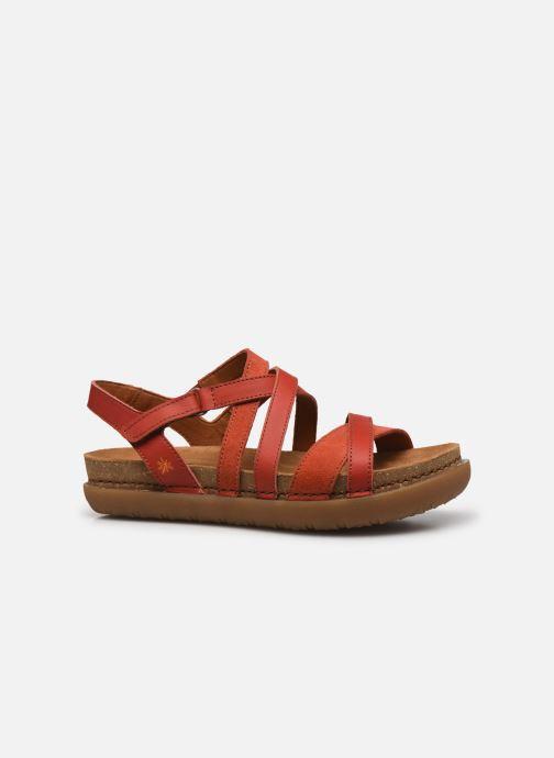 Sandales et nu-pieds Art RHODES 1714 Rouge vue derrière