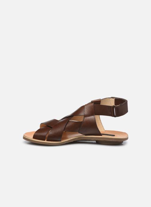 Sandales et nu-pieds Neosens DAPHNI S3125 Marron vue face