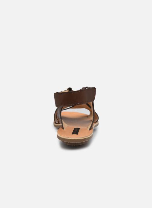 Sandales et nu-pieds Neosens DAPHNI S3125 Marron vue droite