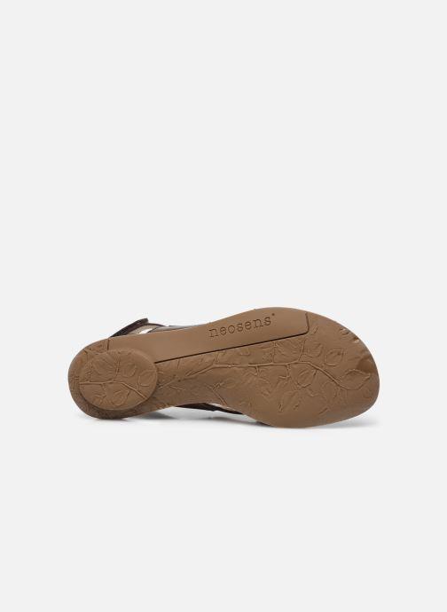 Sandales et nu-pieds Neosens DAPHNI S3125 Marron vue haut