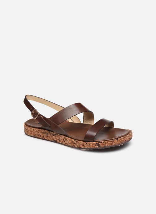 Sandales et nu-pieds Neosens TARDANA S3212 Marron vue détail/paire