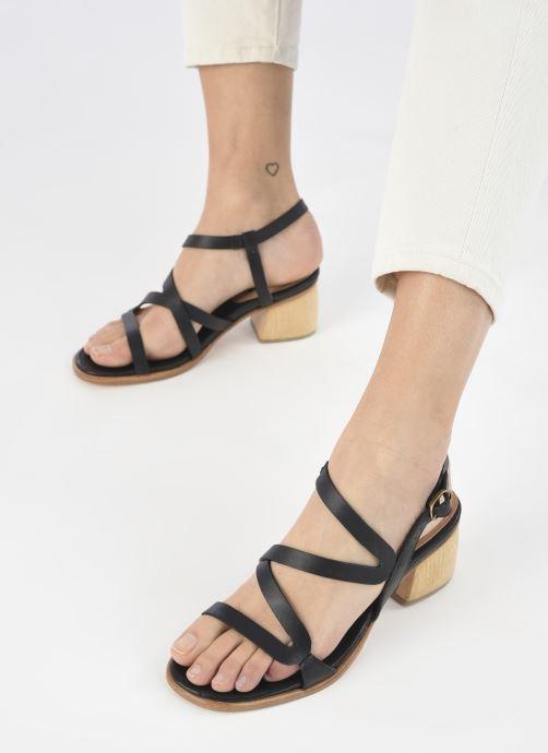 Sandales et nu-pieds Neosens VERDISO S3143 Noir vue bas / vue portée sac