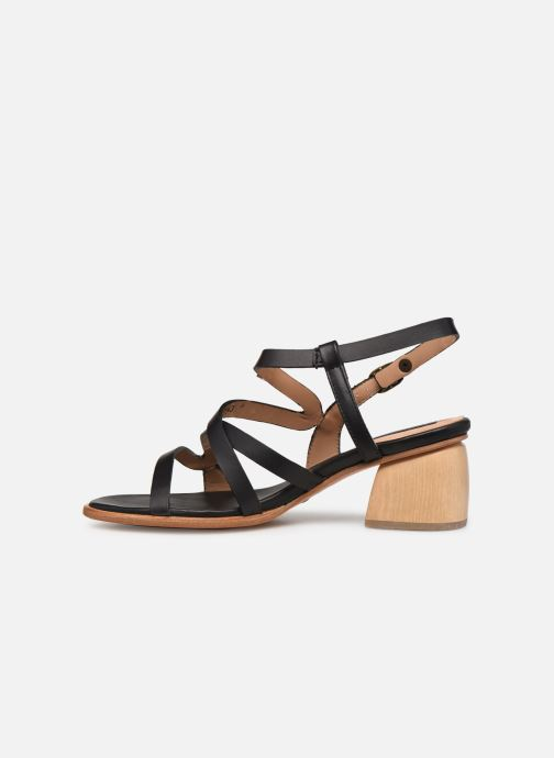 Sandales et nu-pieds Neosens VERDISO S3143 Noir vue face