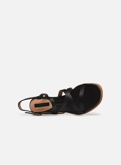Sandales et nu-pieds Neosens VERDISO S3143 Noir vue gauche