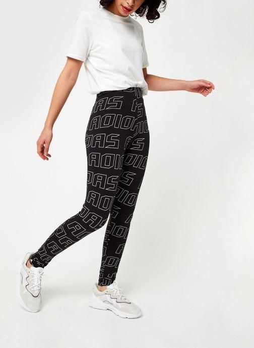 Vêtements adidas performance W Ur Tight Noir vue bas / vue portée sac