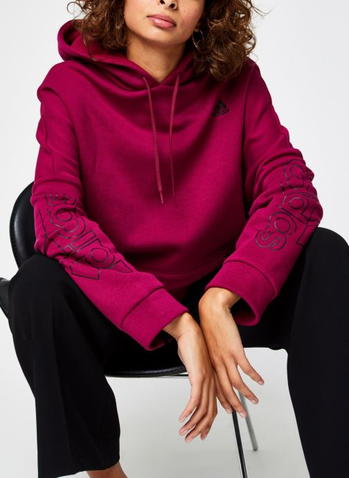 adidas performance Sweatshirt hoodie - W Big Bos Os Hd - Bordeaux