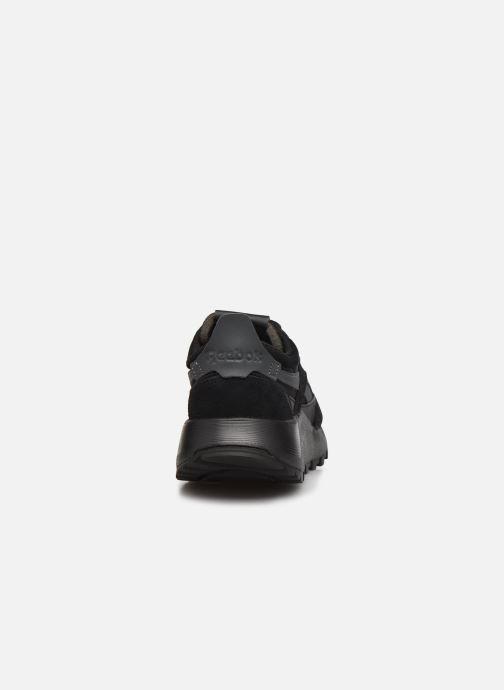 Sneaker Reebok Cl Legacy W schwarz ansicht von rechts