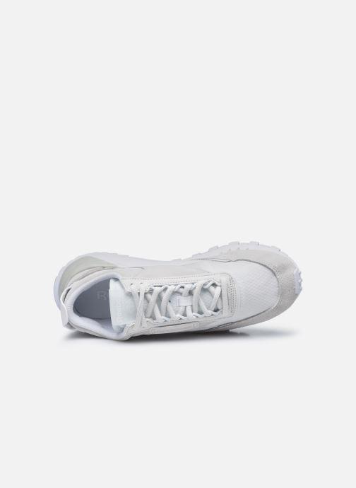 Sneaker Reebok Cl Legacy W weiß ansicht von links