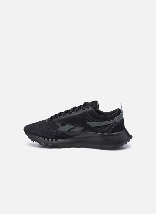 Sneaker Reebok Cl Legacy schwarz ansicht von vorne