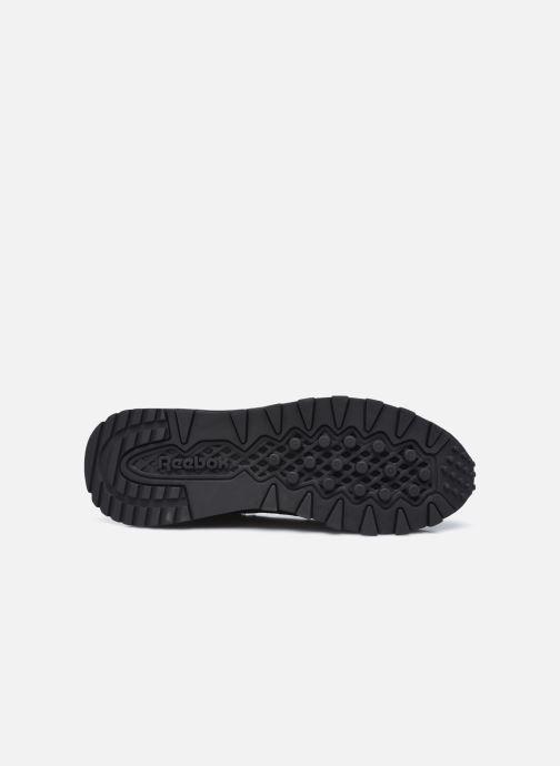 Sneaker Reebok Cl Legacy schwarz ansicht von oben