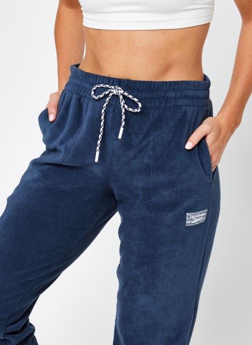 Vêtements Reebok Cl Gp We Pants Bleu vue face