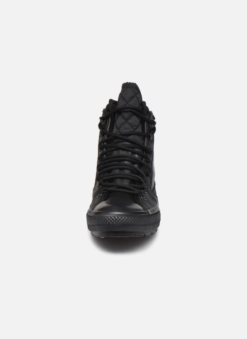 Sneaker Converse Chuck Taylor All Star All Terrain Utility Hi schwarz schuhe getragen
