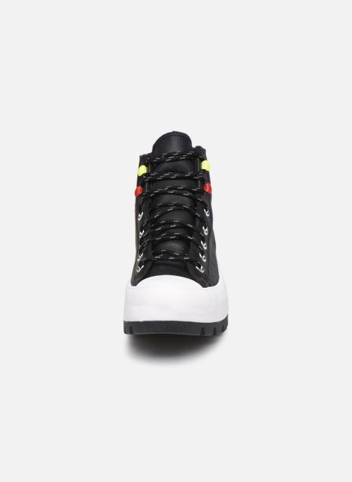 Sneaker Converse Chuck Taylor All Star Lugged Winter Mountain Club Hi schwarz schuhe getragen