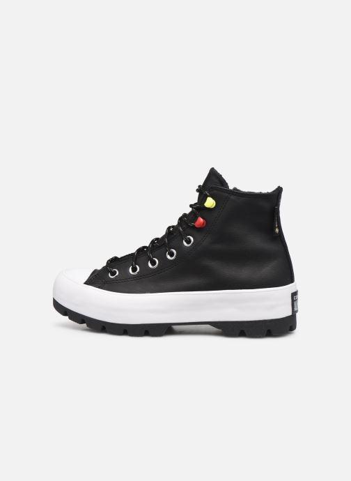 Sneaker Converse Chuck Taylor All Star Lugged Winter Mountain Club Hi schwarz ansicht von vorne