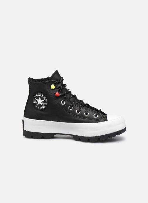 Sneaker Converse Chuck Taylor All Star Lugged Winter Mountain Club Hi schwarz ansicht von hinten