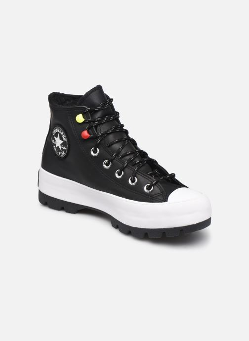 Baskets Converse Chuck Taylor All Star Lugged Winter Mountain Club Hi Noir vue détail/paire