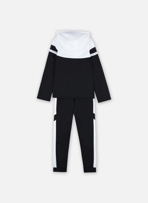 Vêtements Nike Nike Sportswear Poly Wvn Ovrly Tracksuit Noir vue portées chaussures