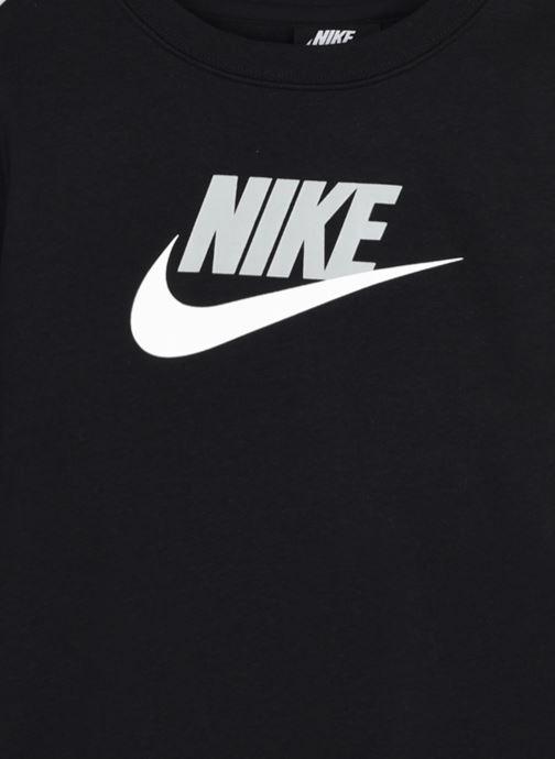 Vêtements Nike Nike Sportswear Club Futura Crew Noir vue face