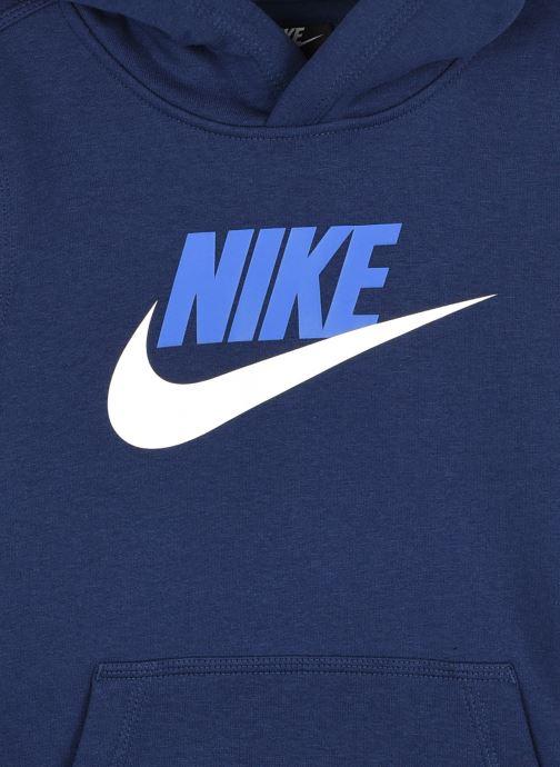 Vêtements Nike B Nsw Club + Hbr Po Bleu vue face