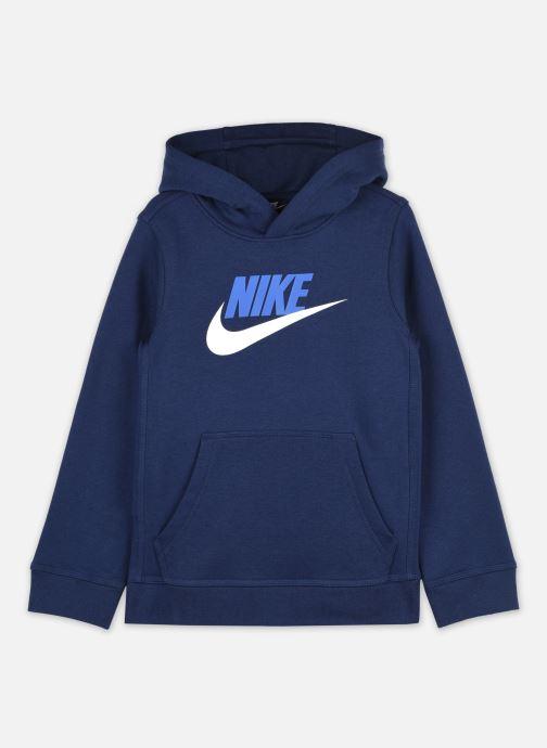 Vêtements Nike B Nsw Club + Hbr Po Bleu vue détail/paire