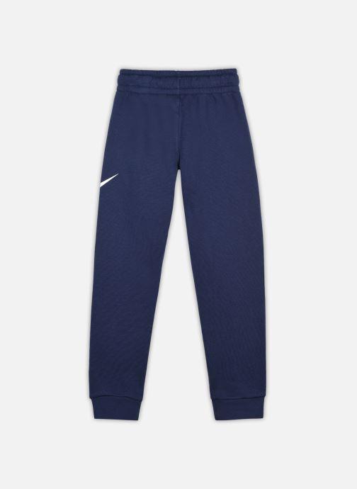 Vêtements Nike B Nsw Club + Hbr Pant Bleu vue portées chaussures