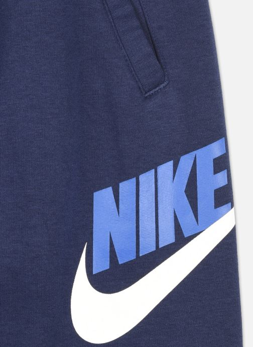 Vêtements Nike B Nsw Club + Hbr Pant Bleu vue face
