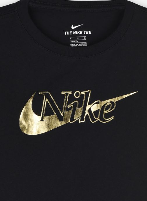 Vêtements Nike G Nsw Tee Crop Rtlp Noir vue face