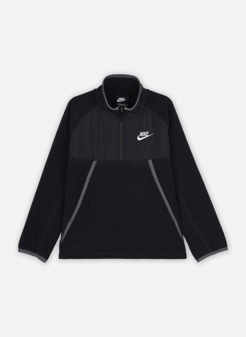 Kleding Nike B Nsw Winterized Hz Top Zwart detail