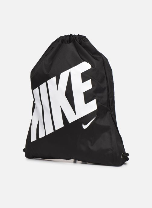 Bolsas de deporte Nike Kids' Nike Graphic Gym Sack Negro vista del modelo