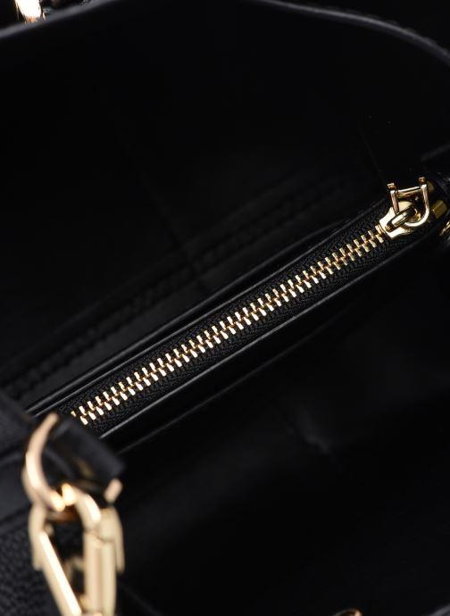 Handtaschen Michael Michael Kors MERCER GALLERY SM CONV BCKT SHLDR schwarz ansicht von hinten