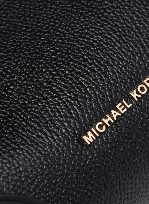 Bolsos de mano Michael Michael Kors MERCER GALLERY SM CONV BCKT SHLDR Negro vista lateral izquierda