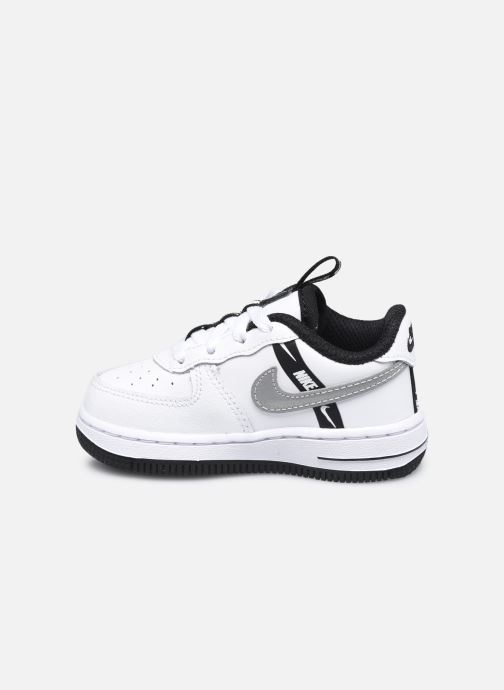 Baskets Nike Force 1 Lv8 Ksa (Td) Blanc vue face