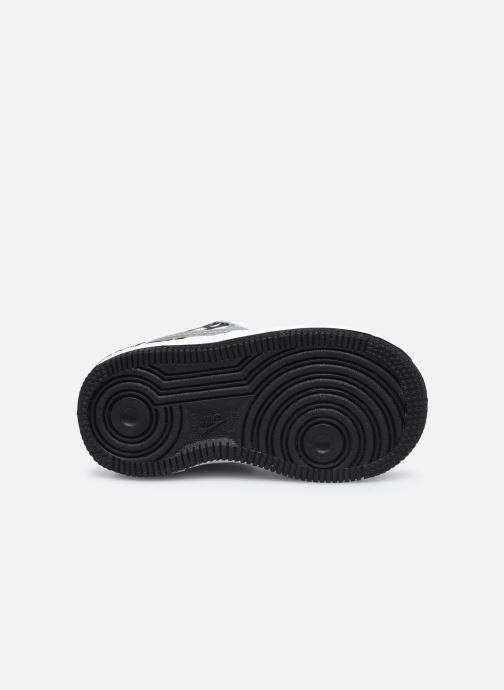 Baskets Nike Force 1 Lv8 Ksa (Td) Blanc vue haut
