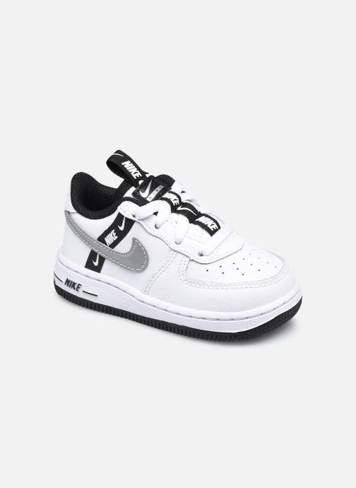 Baskets Nike Force 1 Lv8 Ksa (Td) Blanc vue détail/paire